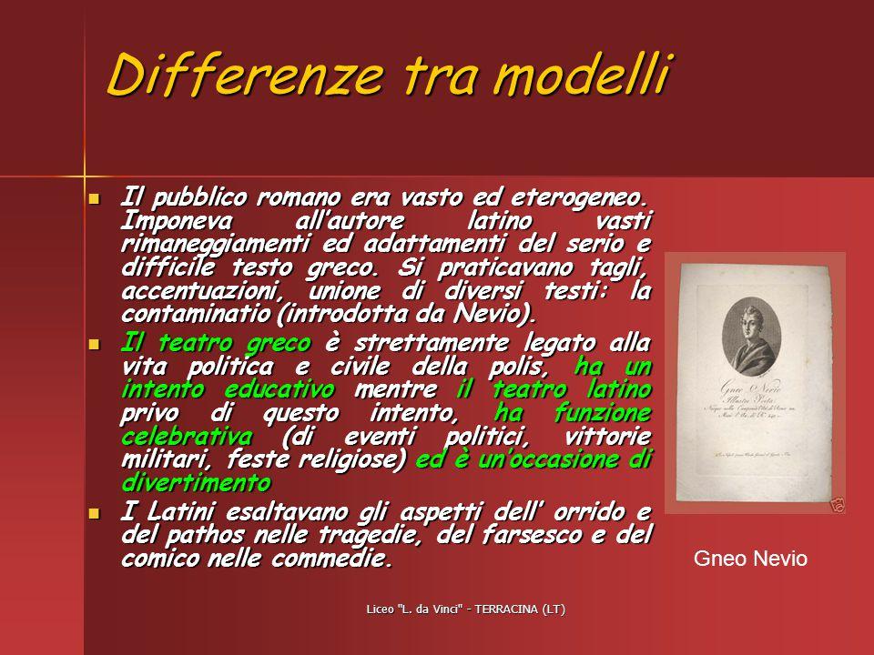 Differenze tra modelli