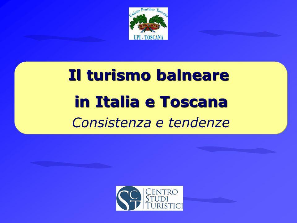 in Italia e Toscana Consistenza e tendenze