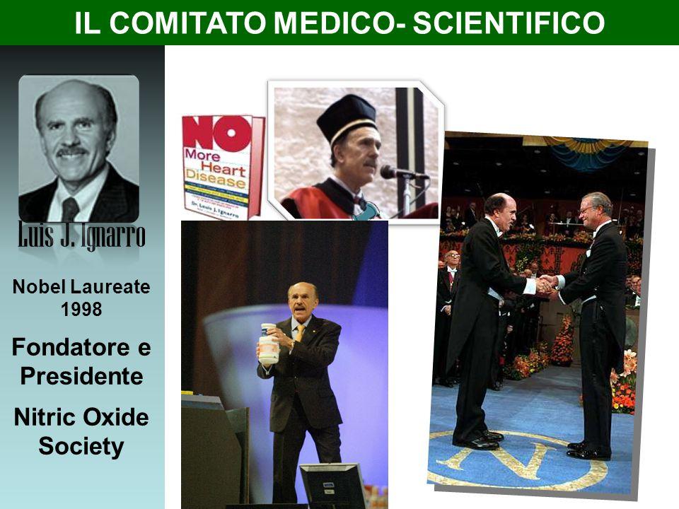 Fondatore e Presidente IL COMITATO MEDICO- SCIENTIFICO