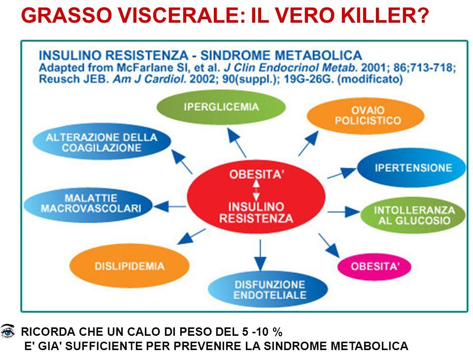 GRASSO VISCERALE: IL VERO KILLER