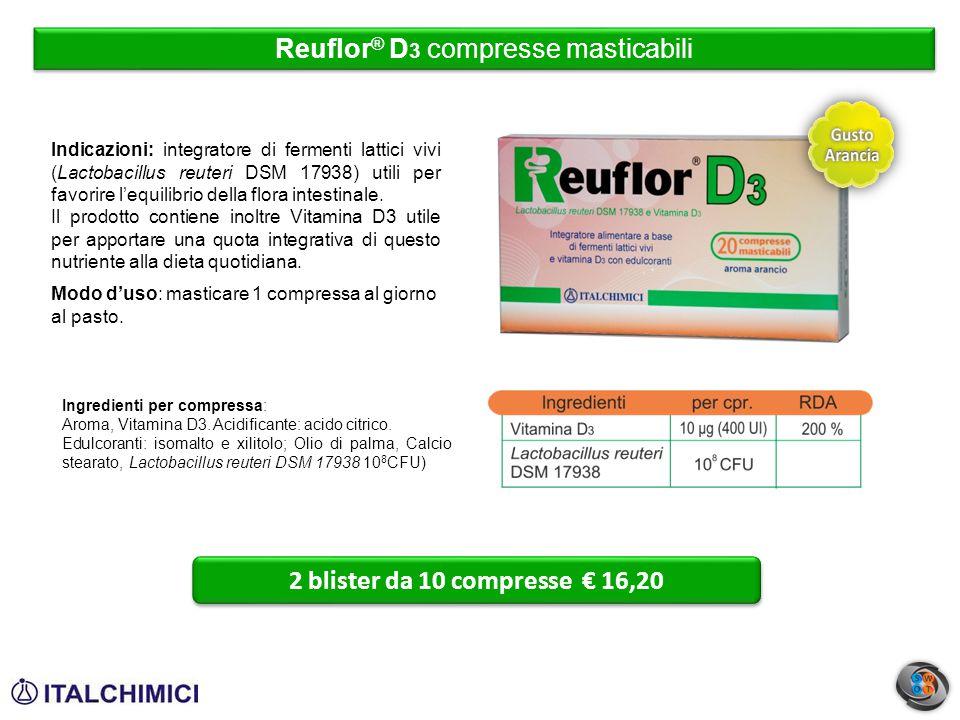 Reuflor® D3 compresse masticabili