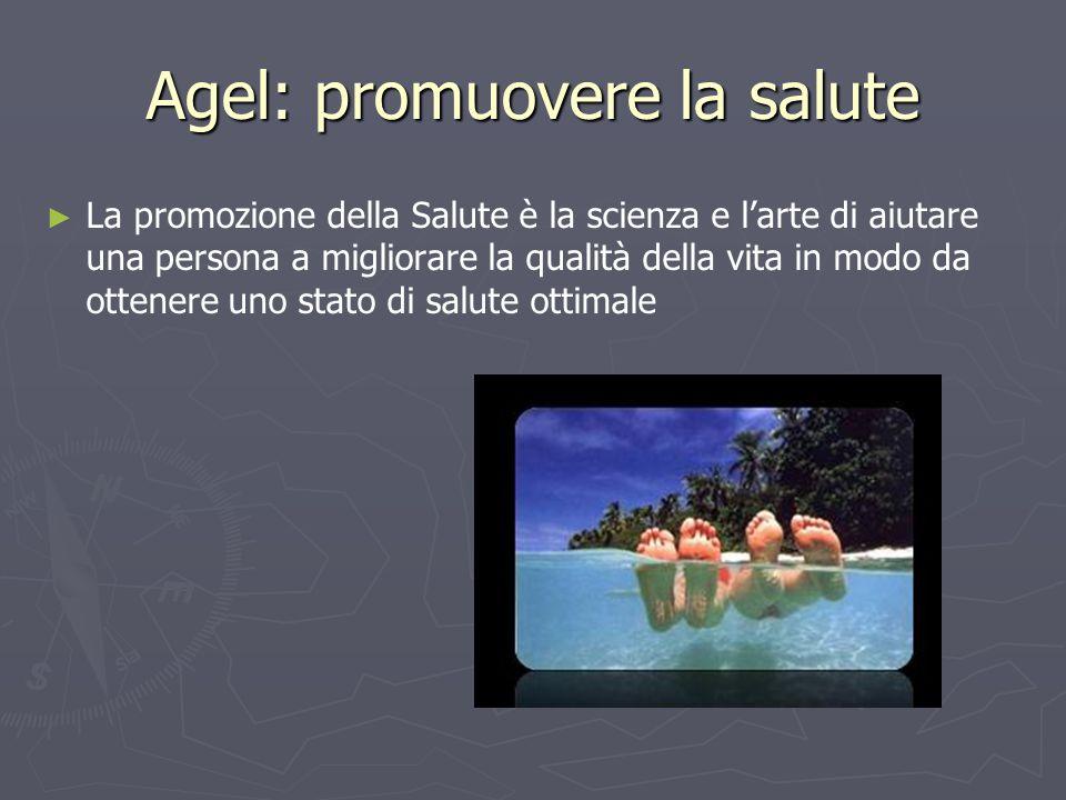 Agel: promuovere la salute