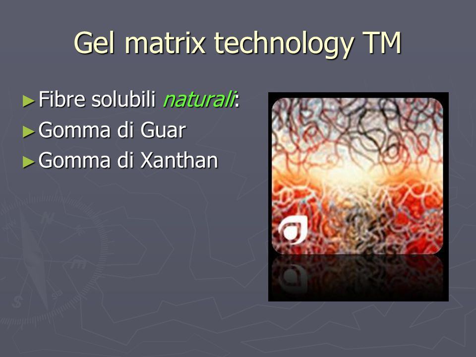 Gel matrix technology TM