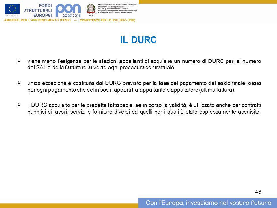 IL DURC