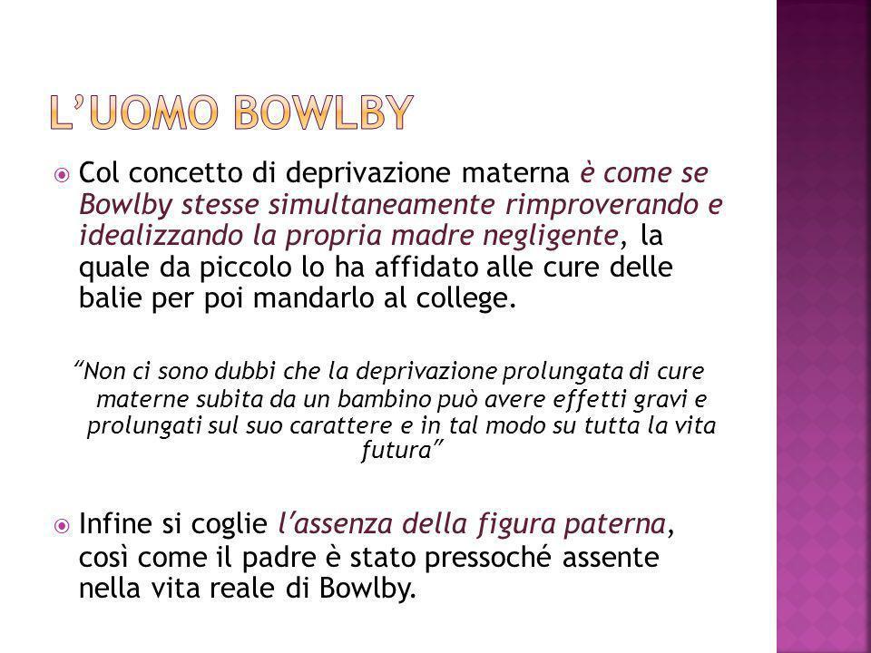 L'uomo Bowlby