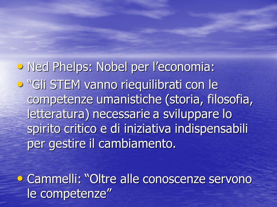 Ned Phelps: Nobel per l'economia:
