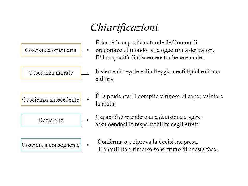 Chiarificazioni
