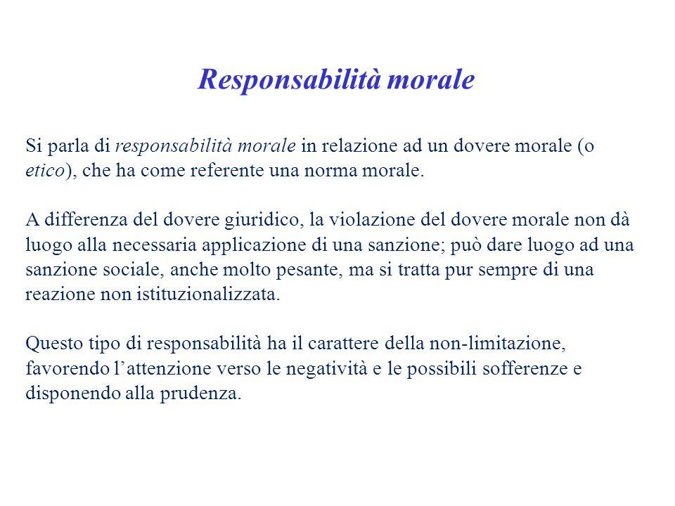 Responsabilità morale