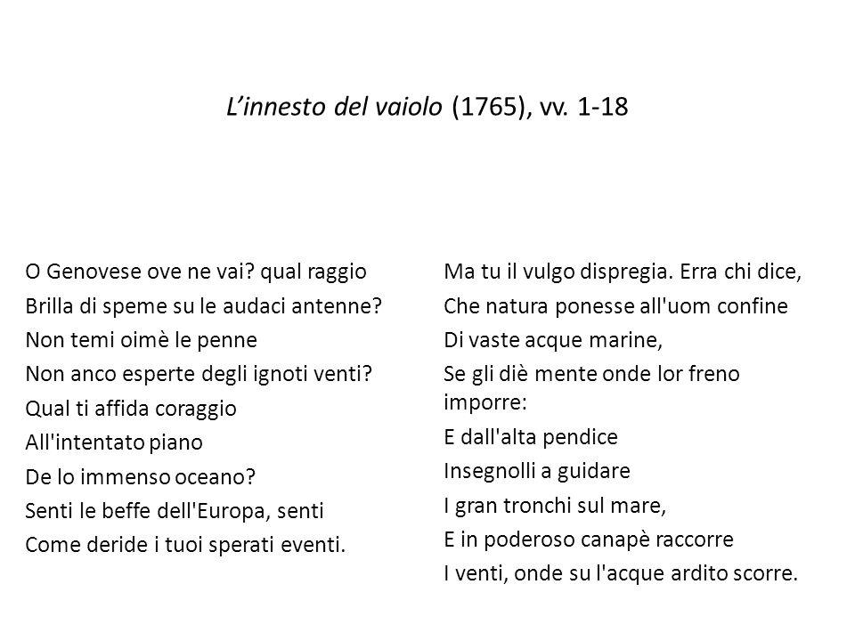 L'innesto del vaiolo (1765), vv. 1-18