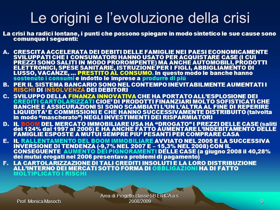 Le origini e l'evoluzione della crisi