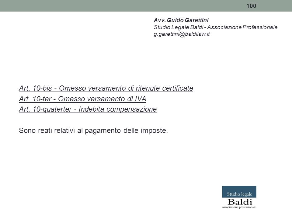 Art. 10-bis - Omesso versamento di ritenute certificate