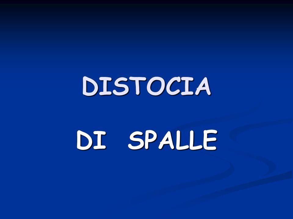 DISTOCIA DI SPALLE