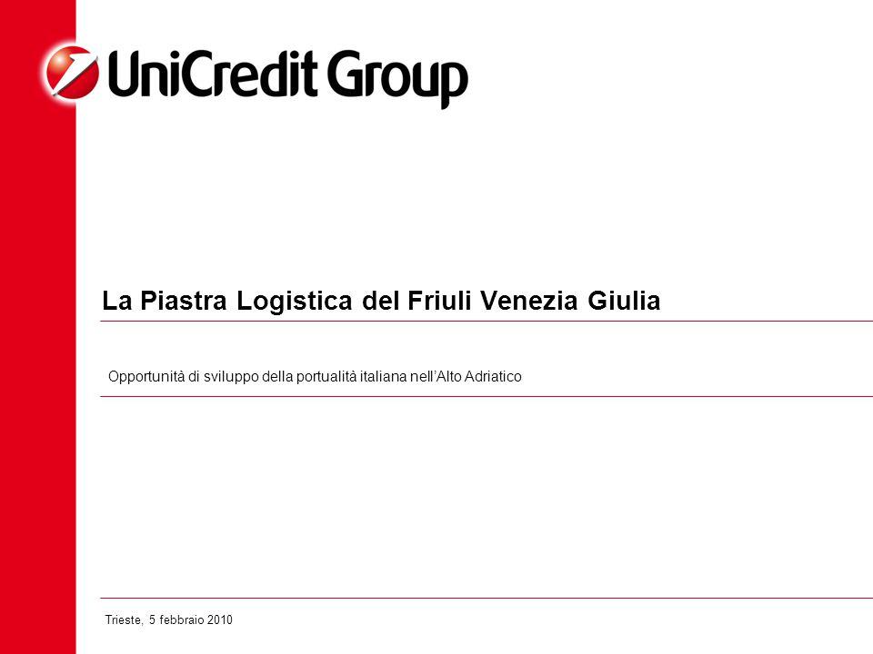 La Piastra Logistica del Friuli Venezia Giulia