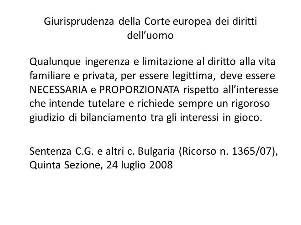 Giurisprudenza della Corte europea dei diritti dell'uomo
