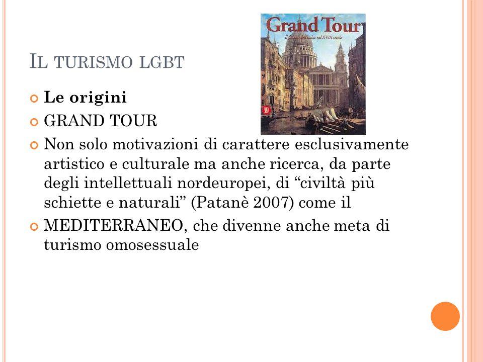 Il turismo lgbt Le origini GRAND TOUR