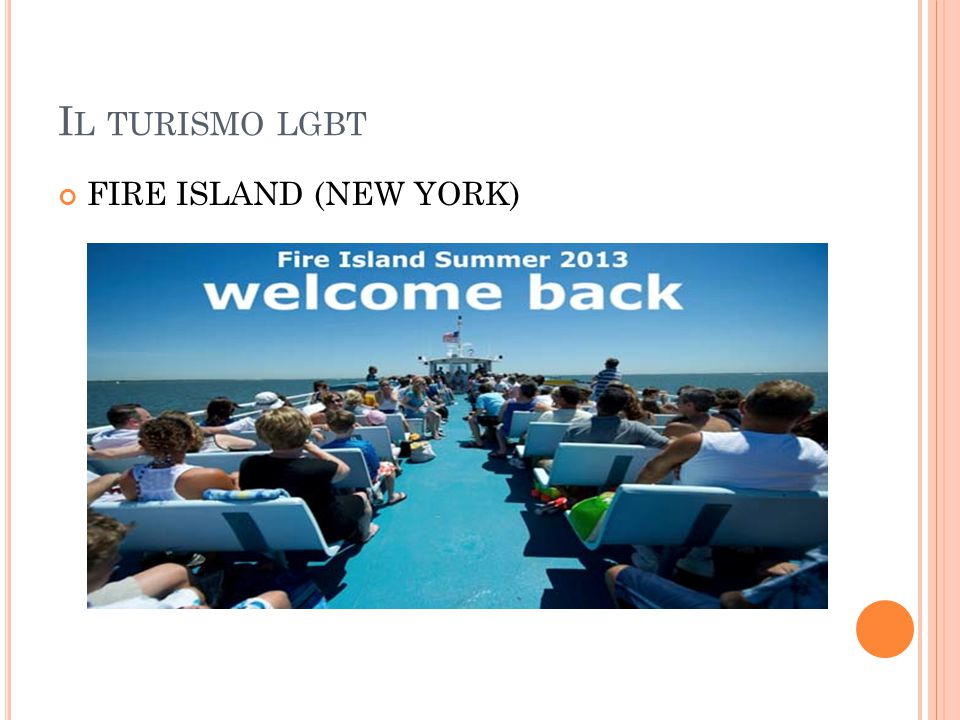 Il turismo lgbt FIRE ISLAND (NEW YORK)