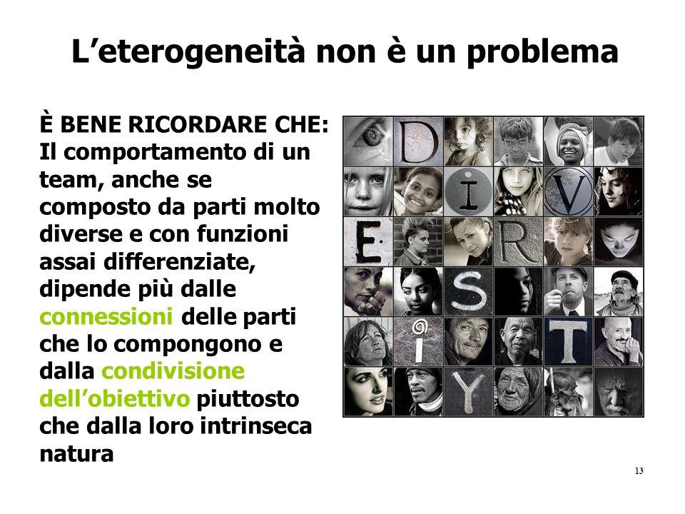L'eterogeneità non è un problema