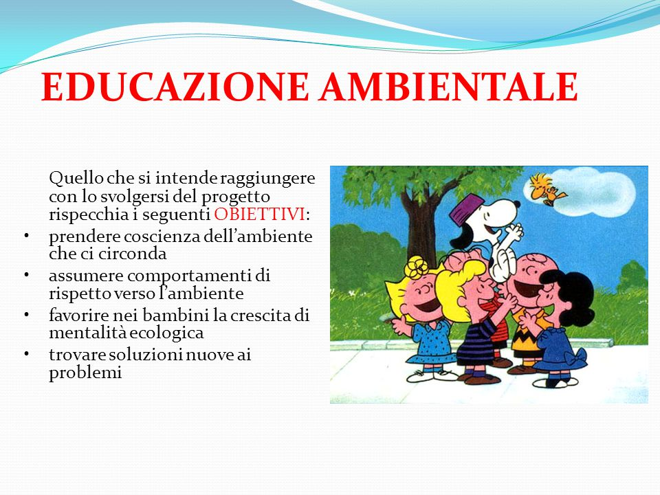 EDUCAZIONE AMBIENTALE