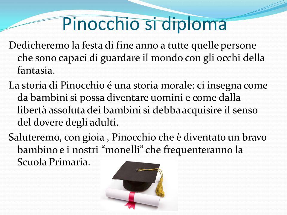 Pinocchio si diploma