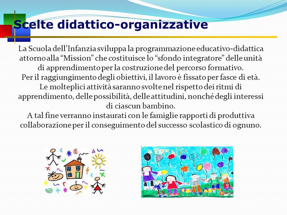 Scelte didattico-organizzative