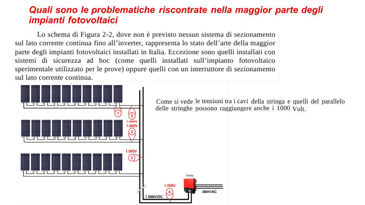 Quali sono le problematiche riscontrate nella maggior parte degli impianti fotovoltaici