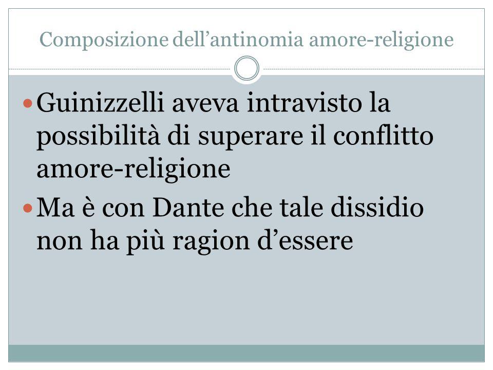 Composizione dell'antinomia amore-religione