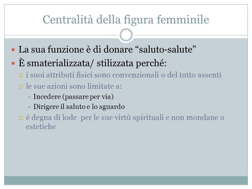 Centralità della figura femminile
