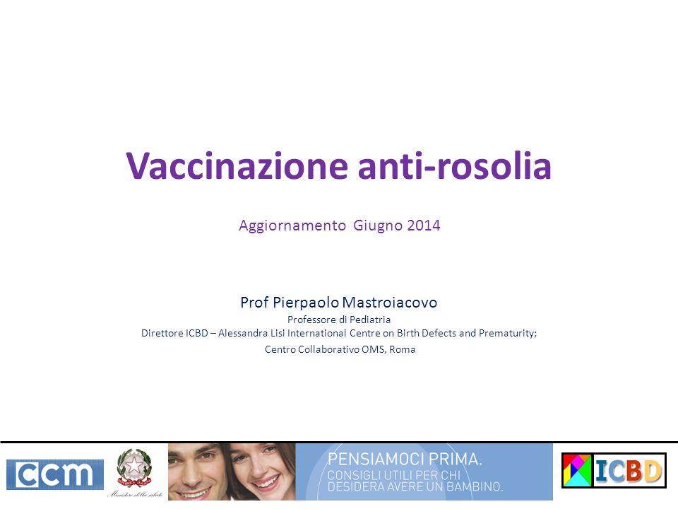 Vaccinazione anti-rosolia