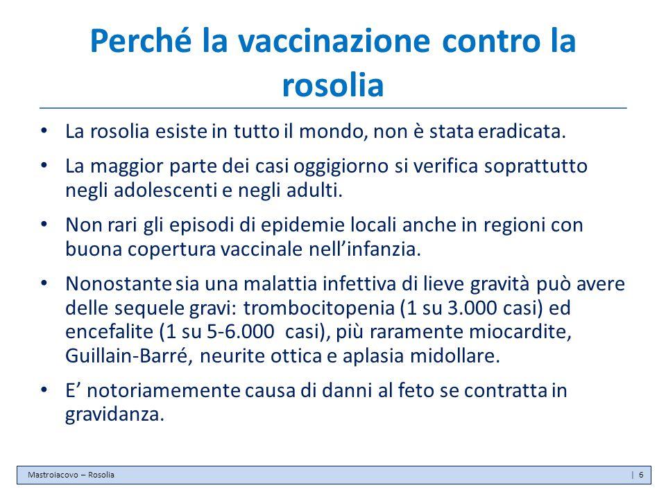 Perché la vaccinazione contro la rosolia