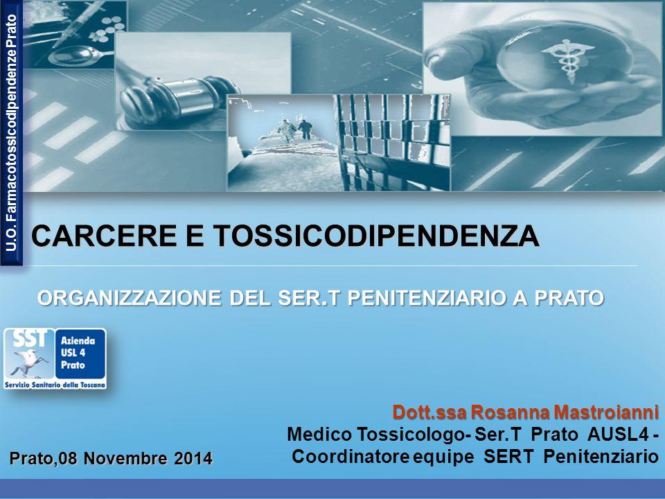 U.O. Farmacotossicodipendenze Prato