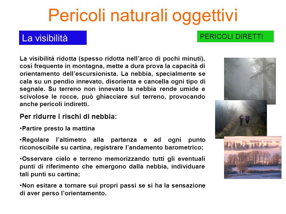 Pericoli naturali oggettivi