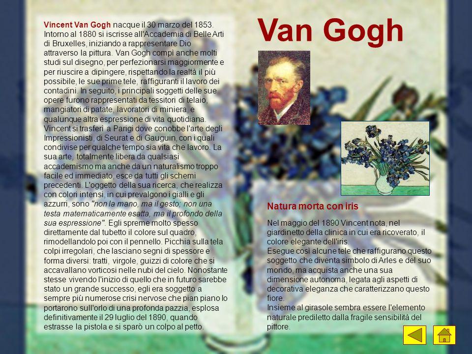 Van Gogh Natura morta con iris