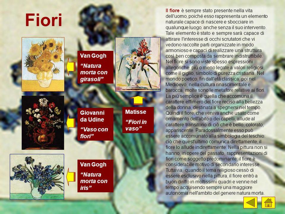Fiori Van Gogh Natura morta con girasoli Giovanni da Udine Matisse
