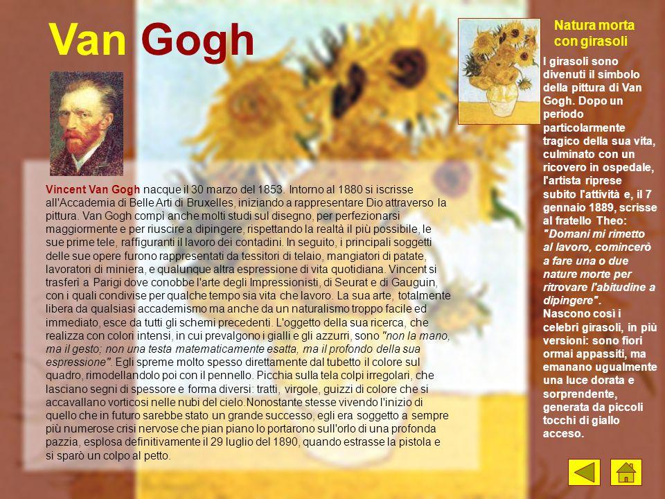 Van Gogh Natura morta con girasoli