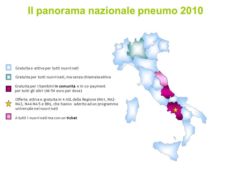 Il panorama nazionale pneumo 2010