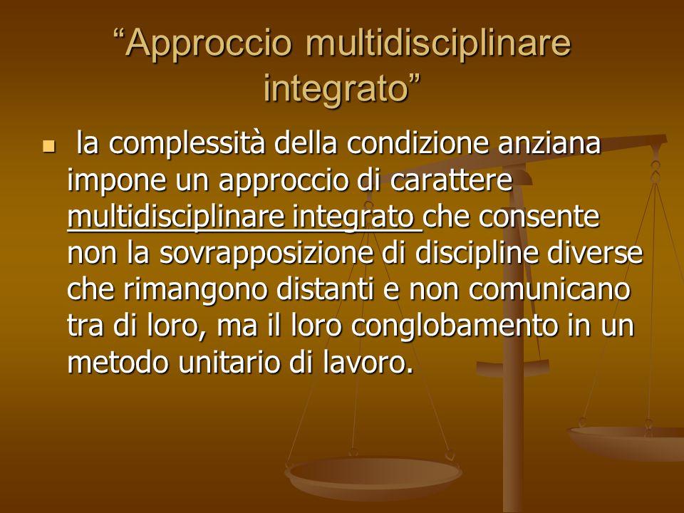 Approccio multidisciplinare integrato
