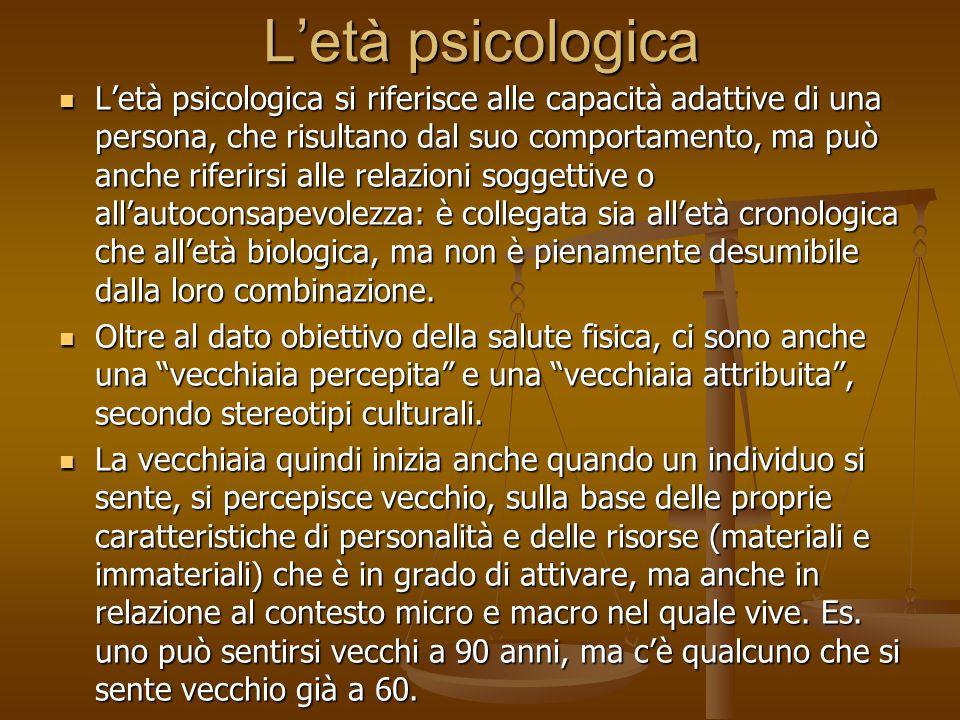 L'età psicologica