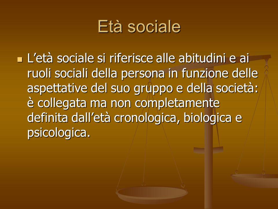 Età sociale