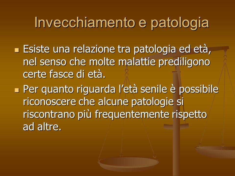 Invecchiamento e patologia
