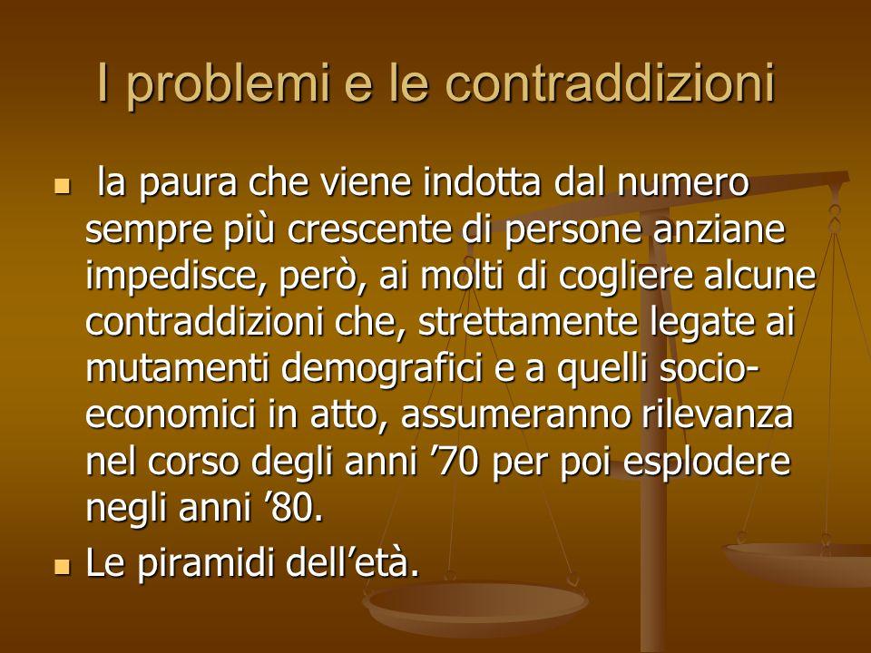 I problemi e le contraddizioni