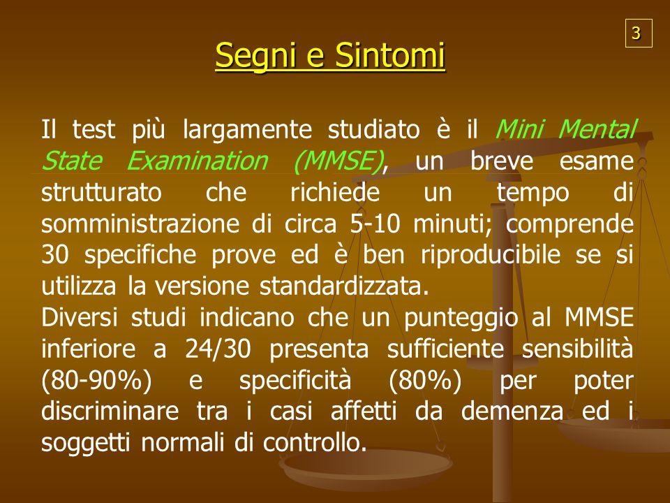 3 Segni e Sintomi.