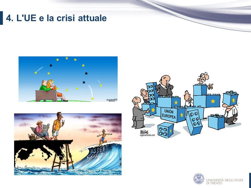 4. L UE e la crisi attuale