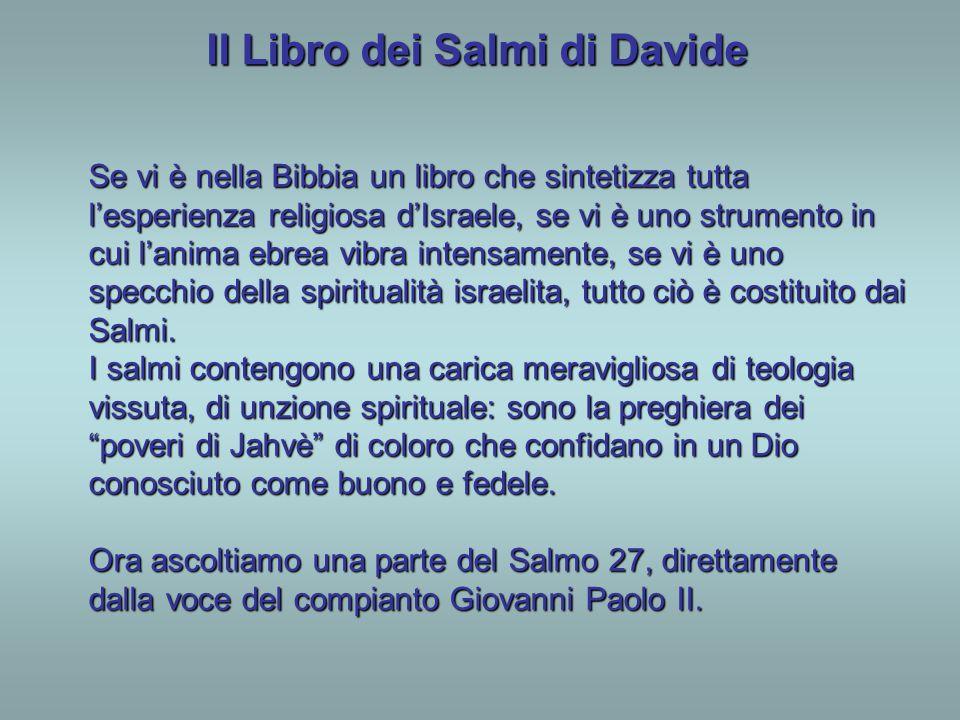 Il Libro dei Salmi di Davide