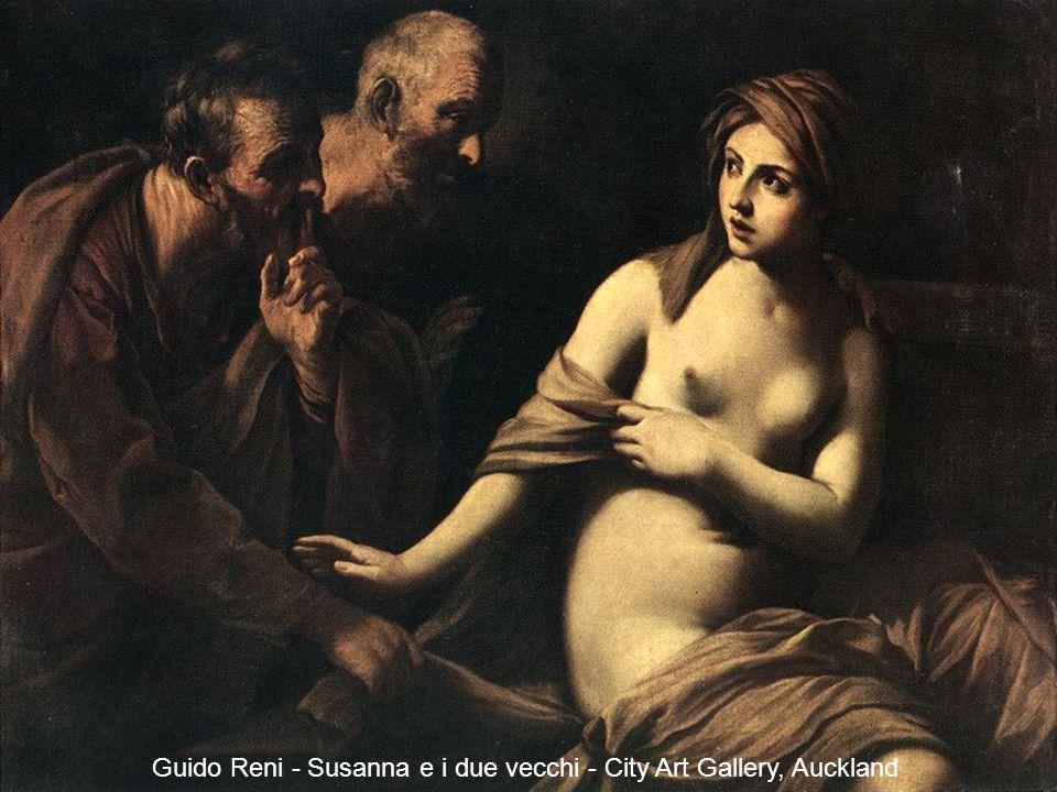 Susanna e i due vecchi - Museo della Real Accademia di San Fernando, Madrid