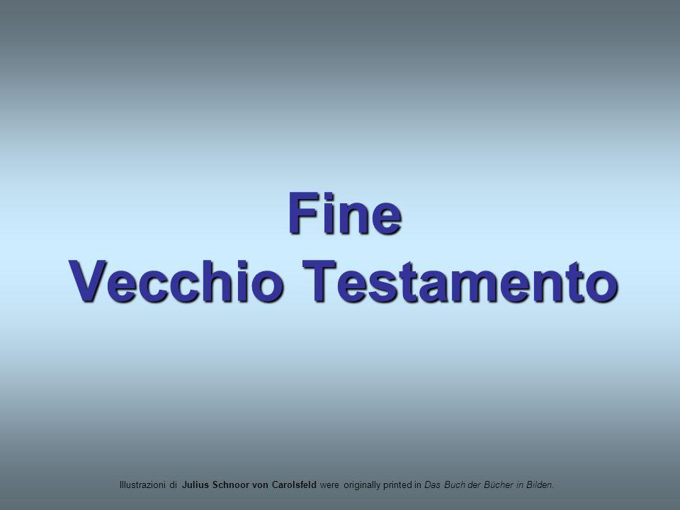 Fine Vecchio Testamento