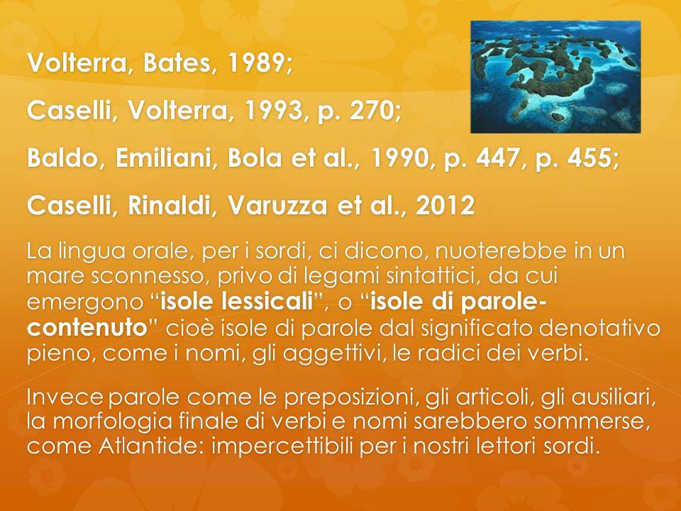 Baldo, Emiliani, Bola et al., 1990, p. 447, p. 455;