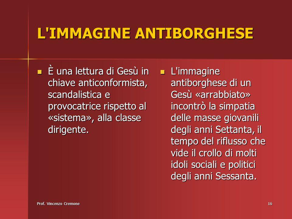 L IMMAGINE ANTIBORGHESE
