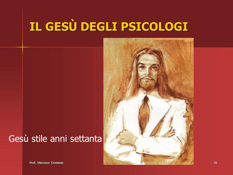 IL GESÙ DEGLI PSICOLOGI