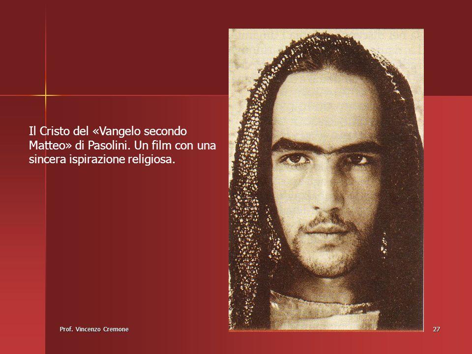 Il Cristo del «Vangelo secondo Matteo» di Pasolini