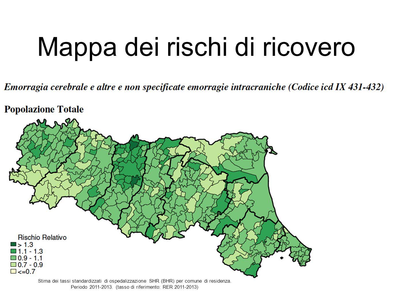 Mappa dei rischi di ricovero